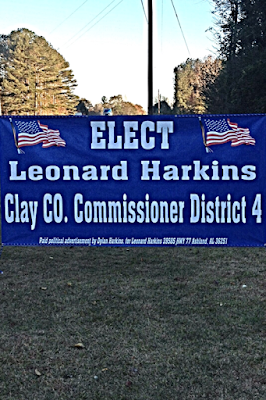 Co. Commissioner Political Banner   Banners.com