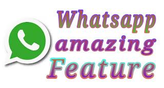 whatsapp amazing feature 1