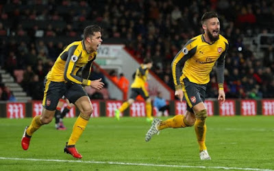 Bournemouth-vs-Arsenal-Skor-3-3