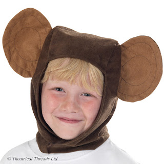 Monkey Hood Kids Costume from Theatrical Threads Ltd