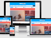 Newspaper - Responsive News Blogger Template