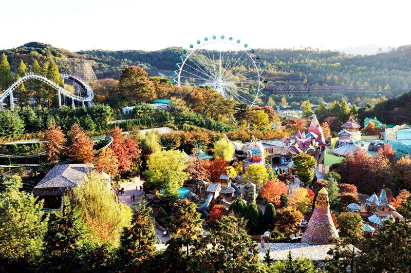 The Chronicles of Mariane: A review of Everland Amusement Park, Yongin, Gyeonggi-do - Day 5 in South Korea