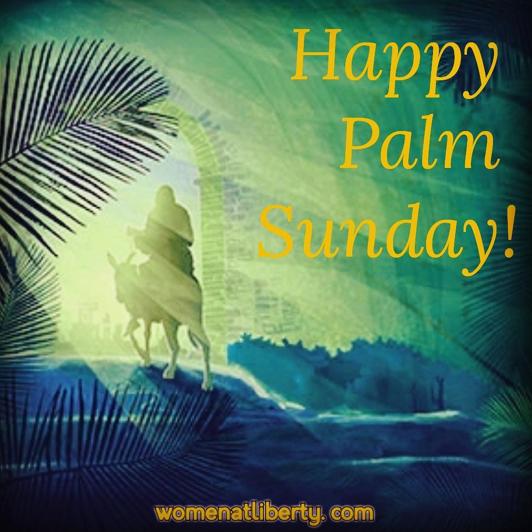 liberty ink: happy palm sunday!