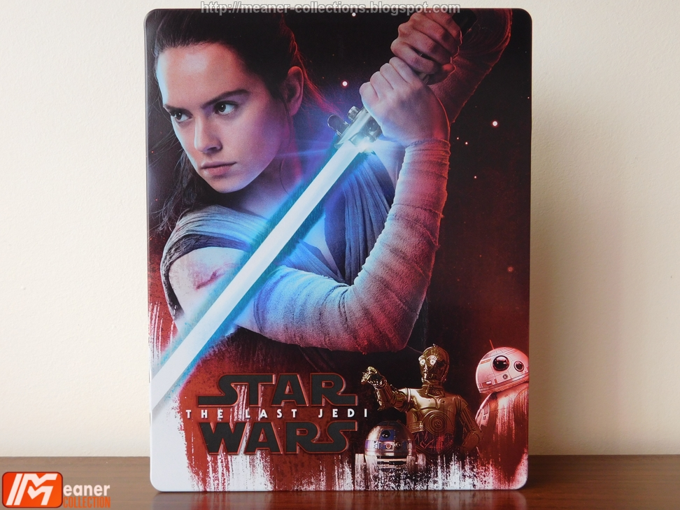 Star Wars The Last Jedi Zavvi Exclusive Blu Ray Steelbook Uk Meaner Collections