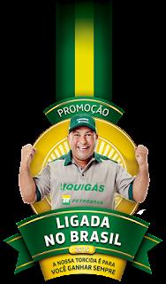 """Promoção """"Ligada no Brasil"""" Liquigás 2016"""