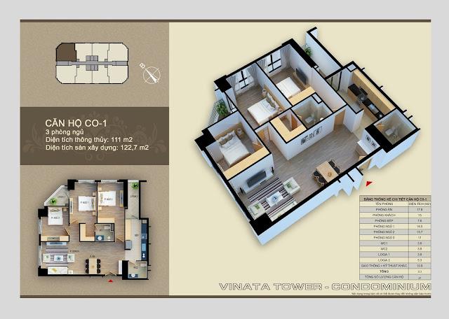 căn hộ c0- 1 chung cư vinata tower
