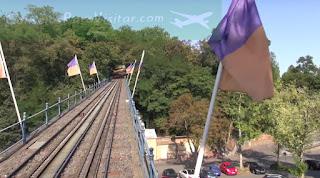 """Puente y Vía del """"trencito"""" de Neroberg"""