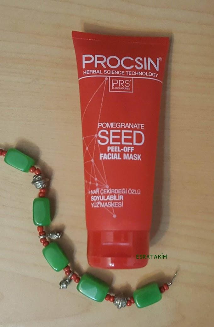 Procsin Nar Çekirdeği Özlü Soyulabilir Yüz Maskesi Deneyimim - Procsin Pomegranate Seed Peel-Off Facial Mask ☆☆☆☆☆