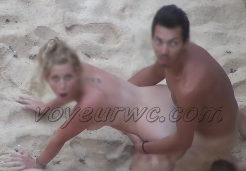Naked Couples Caught Fucking on the Beach by Voyeur Camera (Beach Safaris Sex 34-35)