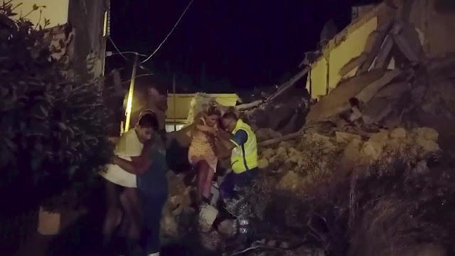 3 νεκροί από σεισμό στην Ιταλία - Δραματική διάσωση μωρού 7 μηνών (βίντεο)
