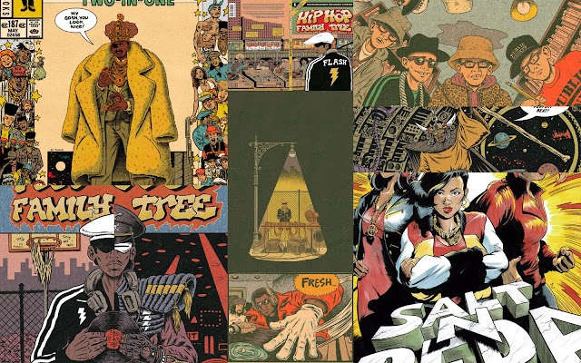 HIP HOP FAMILY TREE: EL CÓMIC DEL HIP HOP