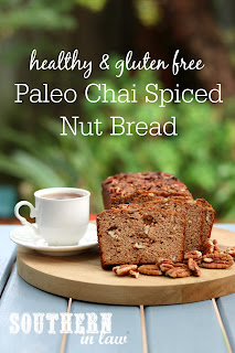 Paleo Chai Spiced Nut Bread Recipe