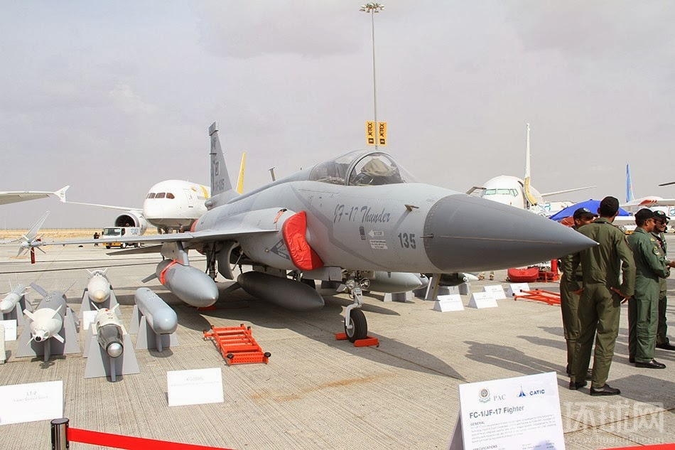 Sino-Pak JF-17 Thunder Displays Its Weapons Range | Brave