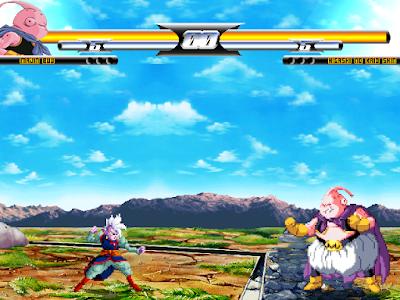 Dragon Ball Heroes MUGEN Bhu fight