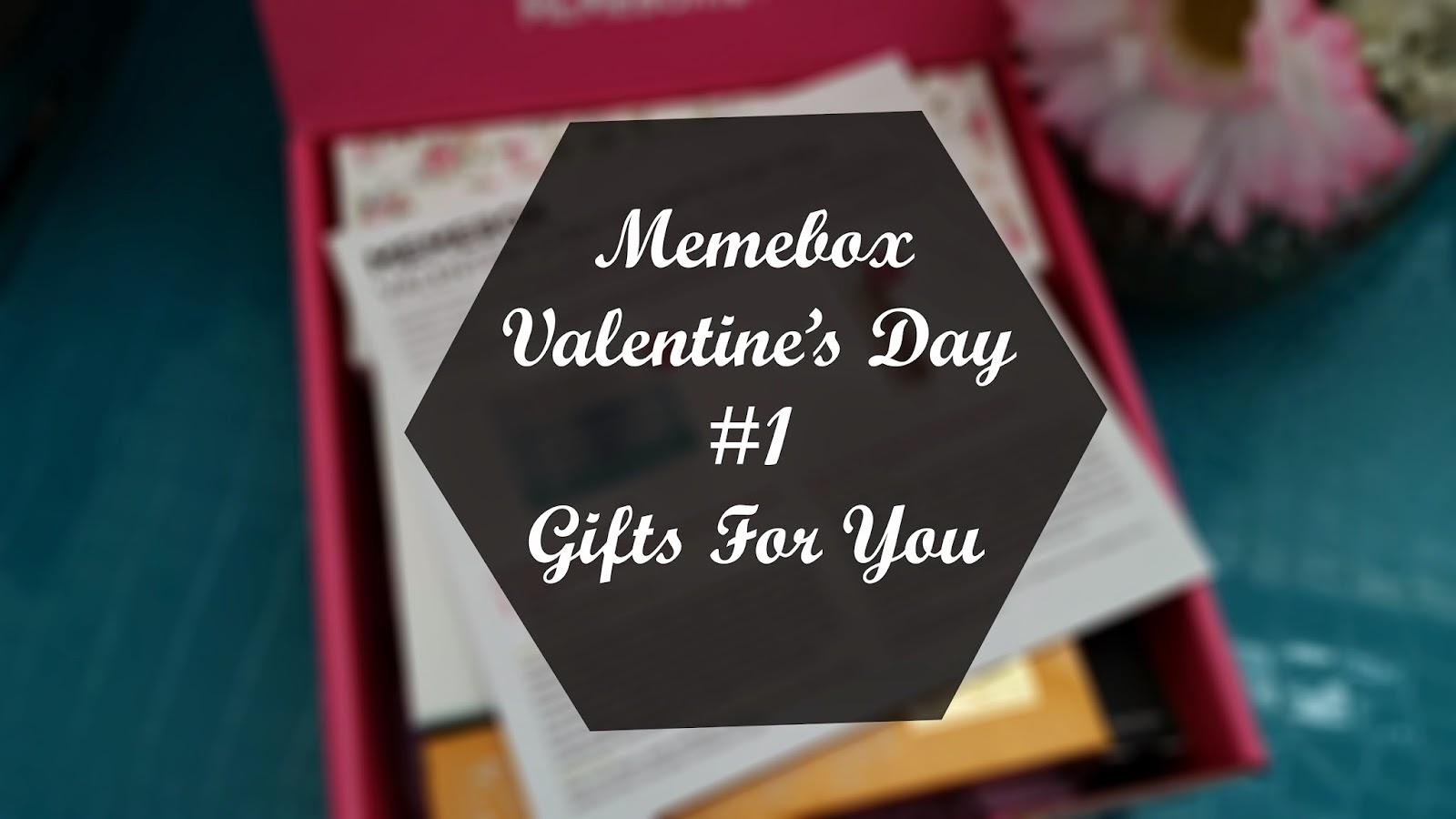 Unboxing: Memebox Valentine's Day #1 Gift For You