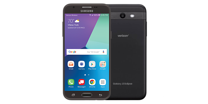 Samsung Galaxy J3 Eclipse for Verizon receives Android Oreo update