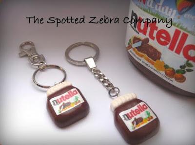 Nutella Keychain