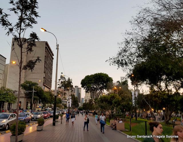 Lima, Peru - Parque Kennedy, Miraflores
