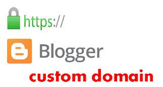 Blogger özel alan adı için https sertifikası desteği