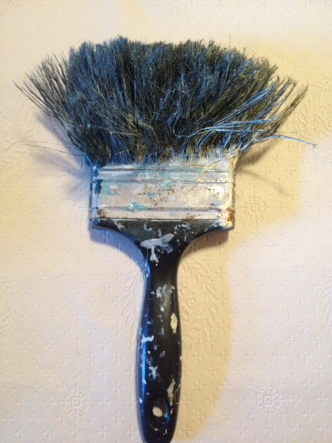 Used Paint Brushes