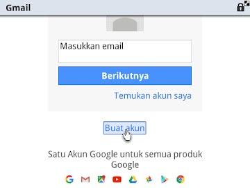 Cara Membuat Email Gmail Di Opera Mini