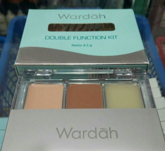 Review dan Harga Concealer Wardah Double Function Kit