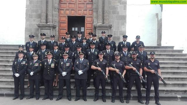La Policía Nacional celebró el pasado martes el día de sus patronos en La Palma