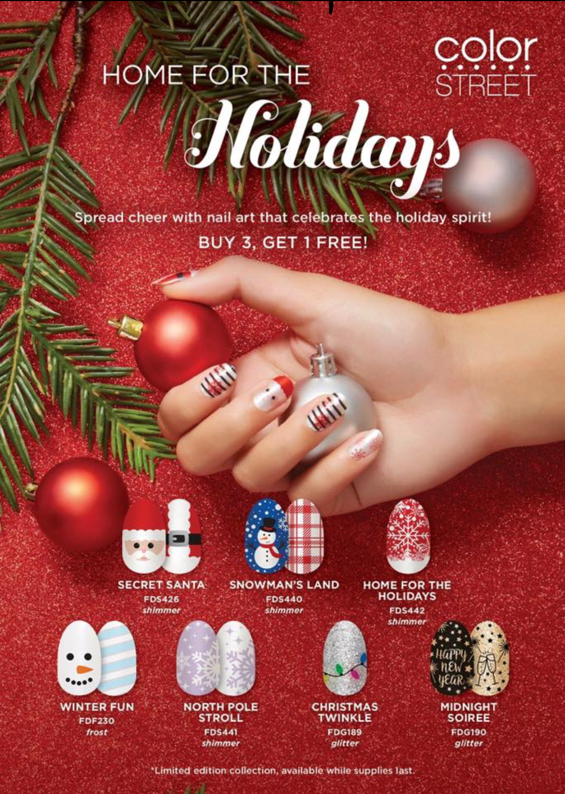 When Are Color Street Christmas Nails 2020 Color STREET New Fall Catalog • Keeping it Simple