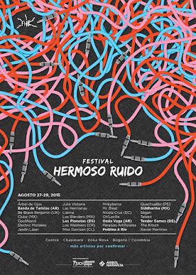 CARTEL FETIVAL HERMOSO RUIDO 2015