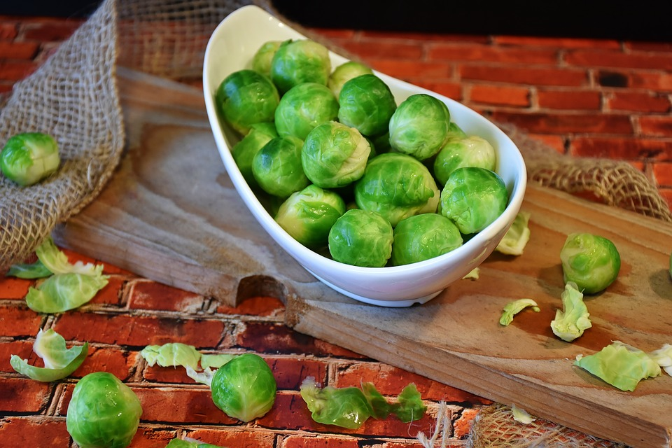 Sprout And Chestnut Gratin