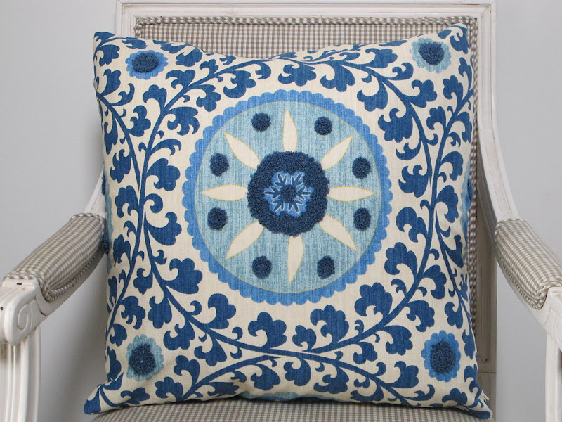 105fc21825f7 I bought these two SUZANI cushions on Etsy last week
