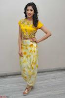 Richa Panai in Yellow Slim Fit Crop top ~ CelebxNext 018.JPG
