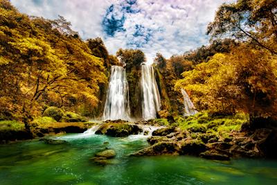 Breathtaking Cikaso Waterfall Sukabumi