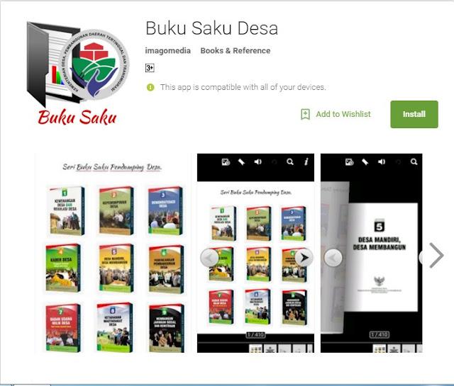 Aplikasi Buku Saku Pendampingan Desa Di Google Playstore