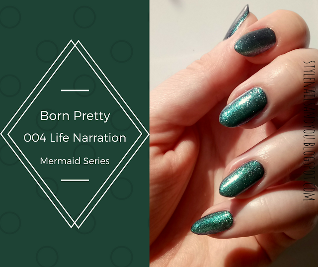 Born Pretty Mermaid Series Z004 Life Narration | Born Pretty Review