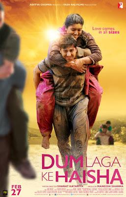 Dum Laga Ke Haisha (2016) Hindi Movie 720p HDRip 900MB