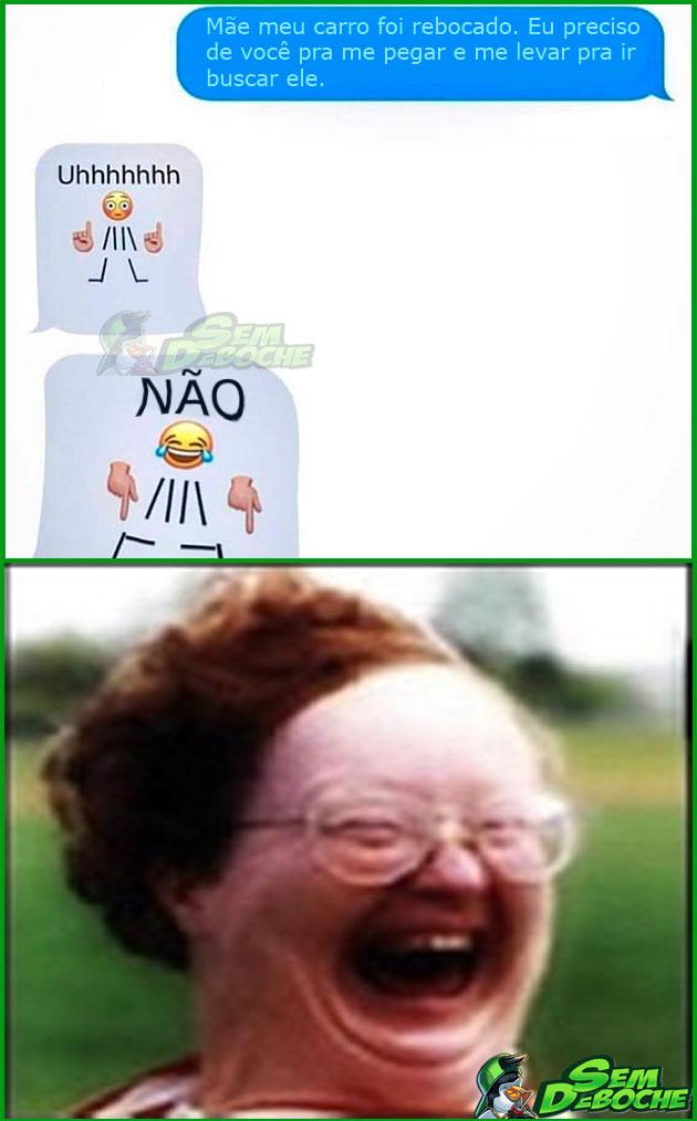 QUANDO SUA MÃE APRENDE A USAR A INTERNET DA FORMA CORRETA