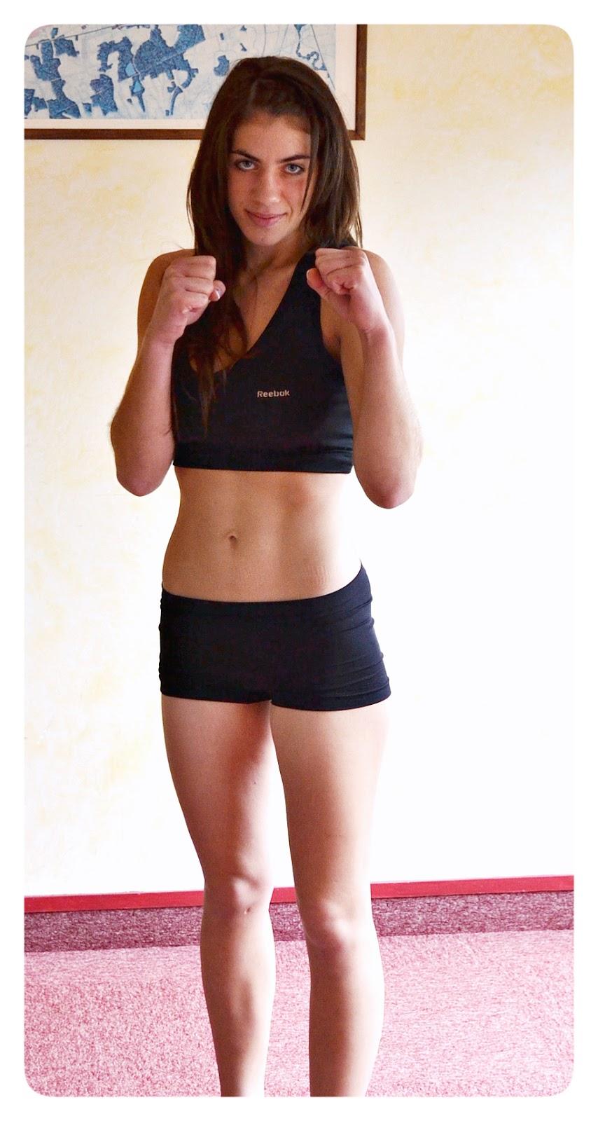 Karolina Gleisner,  boks, kickboxing, treningi, Zielona Góra, muay thai, SKF Boksing Zielona Góra, sport
