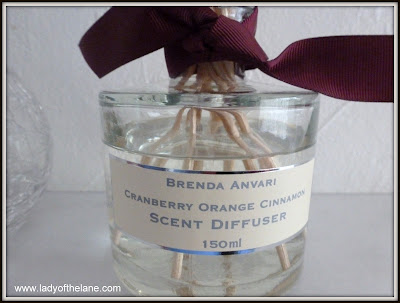 Brenda Anvari Cranberry Orange Cinnamon Scent Diffuser