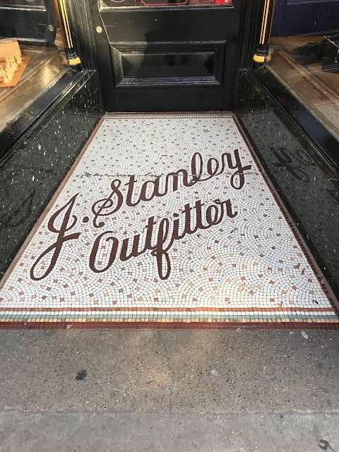 J.Stanley Outfitter, Doorway Mosaic, Rochester, Kent