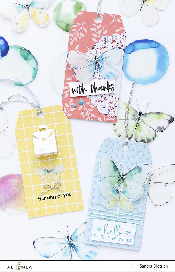 Altenew | Pastel Dreams Paper Pad | Gift Tags three tags