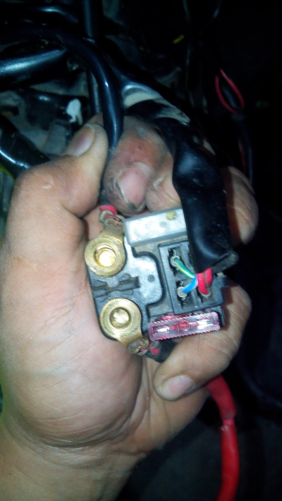 Jack of all TRADES, Master of NONE: Universal Starter Relay ... Yamaha Mio Mx Wiring Diagram on