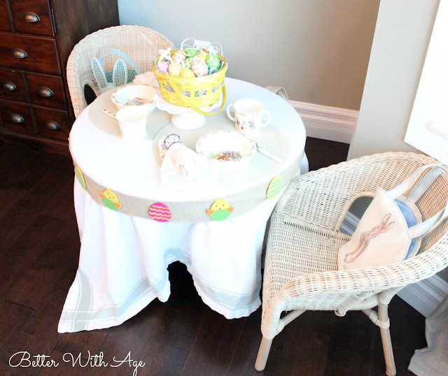 Kids Easter Table www.somuchbetterwithage.com