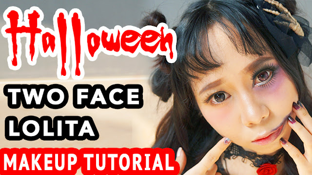 easy halloween makeup tutorial