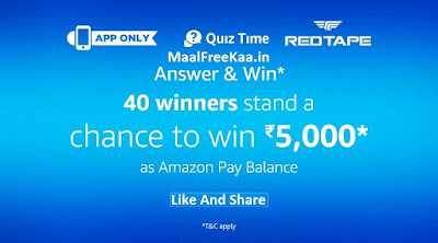 REDTAP Quiz Time Contest