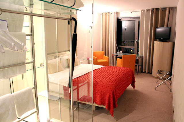 Bedroom at Hotel Josef, Prague - boutique hotels, Czech Republic - Europe travel blog