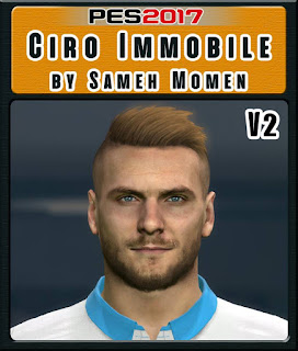 PES 2017 Faces Ciro Immobile by Sameh Momen