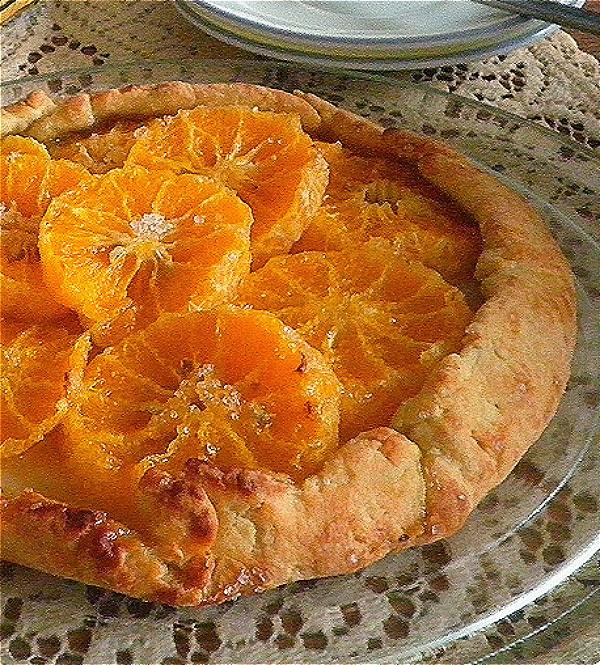 Mandarin Orange Crostata