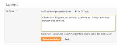 Agar Blog Lebih Seo Dimata Google