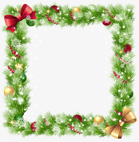 Christmas Border PNG Images